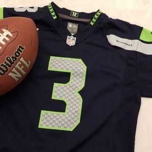 Seattle Seahawks Wilson 3 jersey